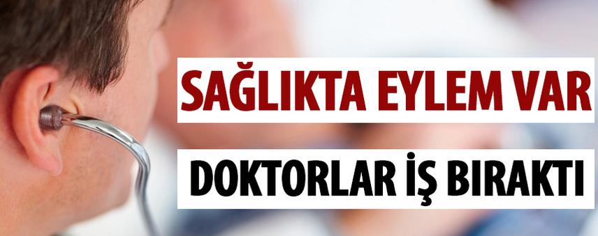 Doktorlar Bugün Tüm Türkiye'de Eylem Yapacak