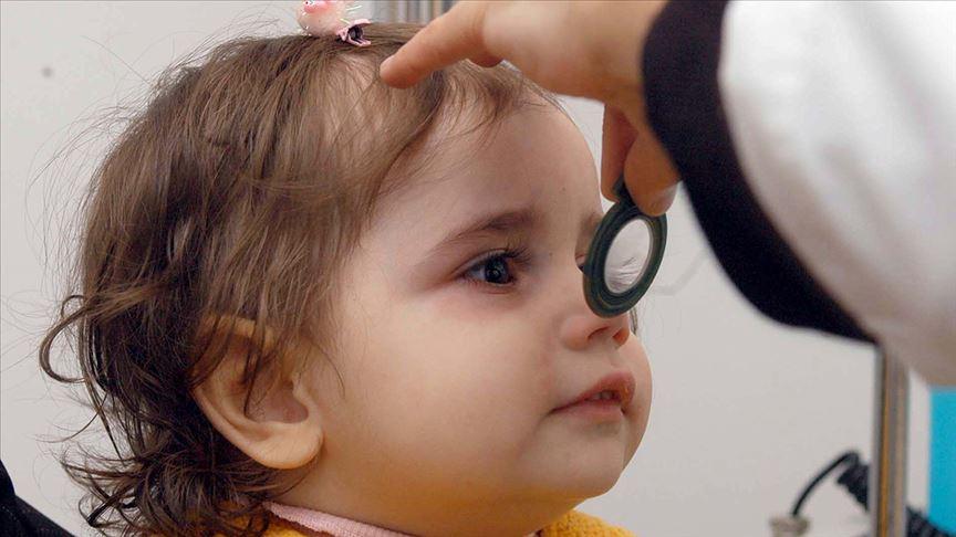 'Glokom' bebeklik döneminde de görülebiliyor