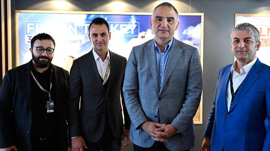 Kültür ve Turizm Bakanı Ersoy Cannes'da