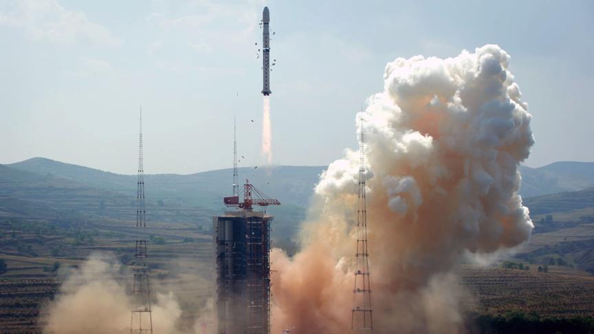 Çin yeni iletişim uydusu fırlattı