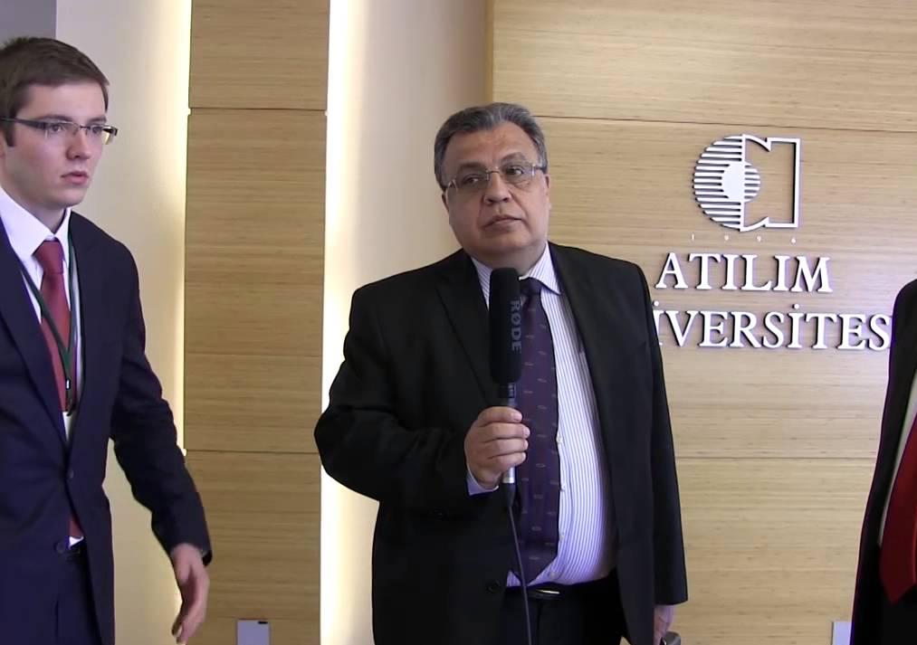 Rusya Büyükelçisi Karlov'dan 'Dost Türkiye halkına içten mesajlar'