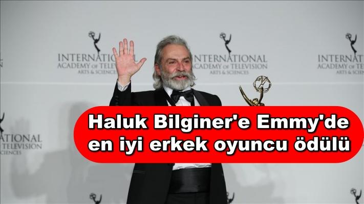 Haluk Bilginer'e Emmy'de en iyi erkek oyuncu ödülü