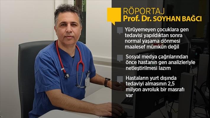 Bonn Üniversitesi'nden Prof. Dr. Bağcı: SMA gen tedavisi, semptomları başlamamış bebeklerde etkili