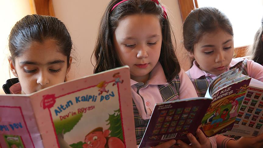 'Çocukların okuma kültürü karnesi zayıf'