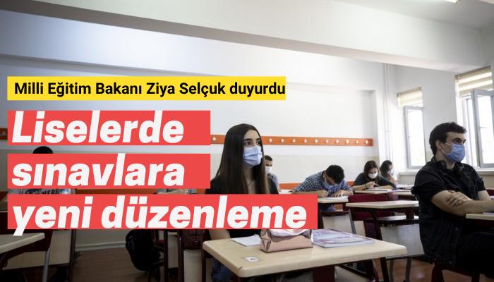 Liselerde sınav uygulamaları yeniden düzenlendi