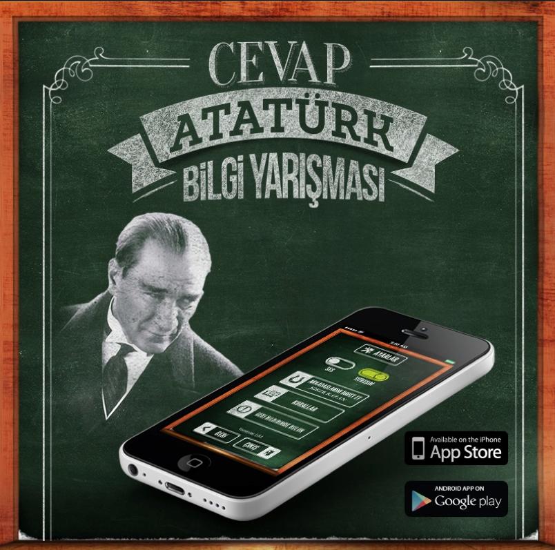 'Cevap Atatürk' Bilgi Yarışması İlgiyle İzleniyor
