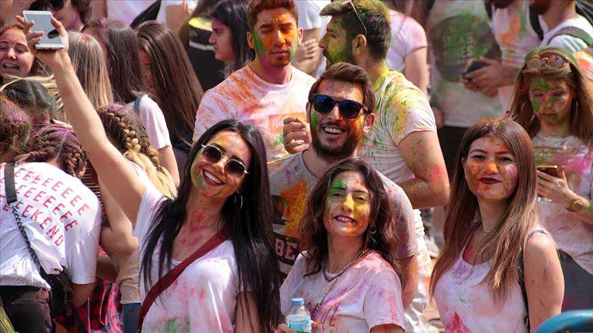 Aydın'da 'renkli' festival