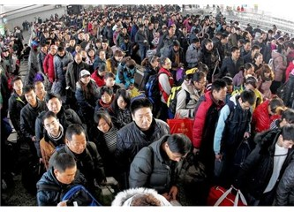 Yarım milyon Çinli yurtdışında öğrenim gördü