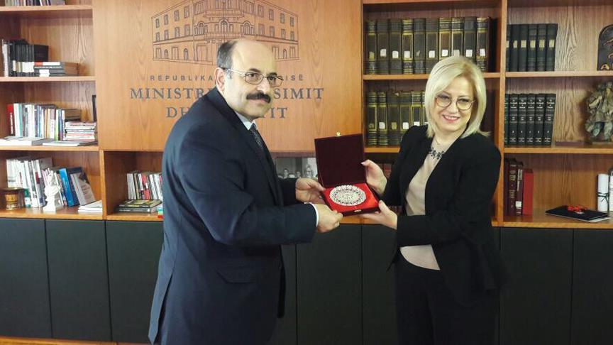 Arnavutluk ile Türkiye arasında eğitim alanında iyi niye protokolü imzalandı