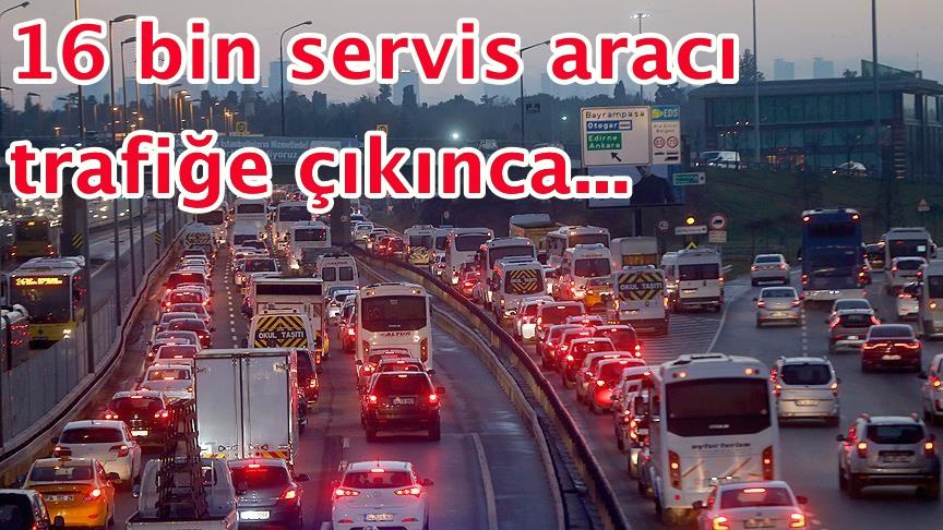 İstanbul'da 'ders başı' yoğunluğu