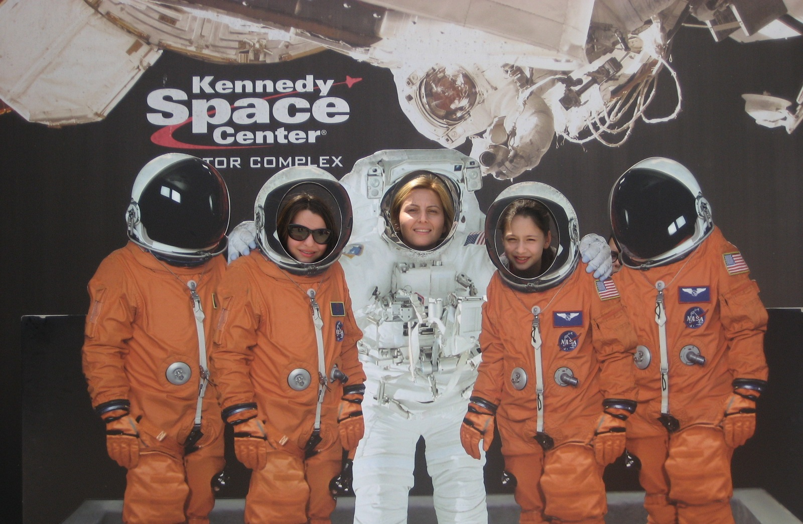 Eyüboğlu Öğrencileri NASA Kennedy Uzay Merkezinde