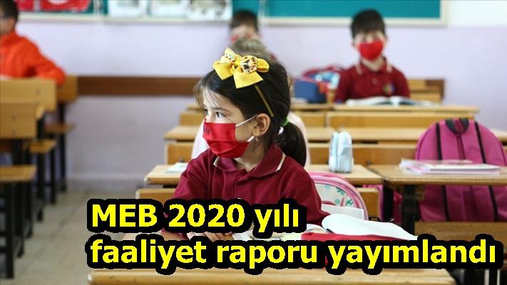 MEB 2020 yılı faaliyet raporu yayımlandı