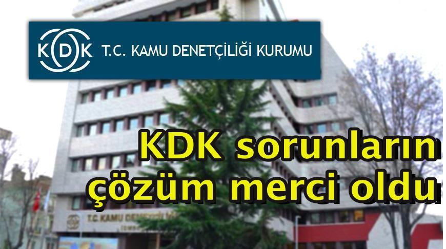 KDK sorunların çözüm merci oldu