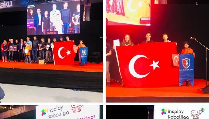 Robotex Turnuvası'nda İTK'lı öğrencilerin başarısı...