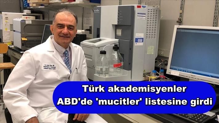 Türk akademisyenler ABD'de 'mucitler' listesine girdi