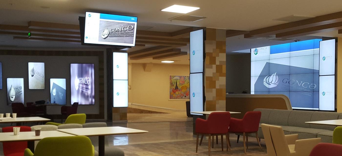 Hastaneler dijital ekranlar ile daha sağlıklı iletişim kuruyor…
