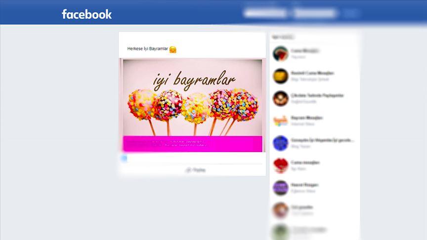 'Bayramları sosyal medyadan kutluyoruz'