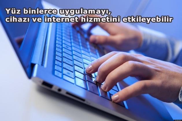İnternette ciddi güvenlik açığı!