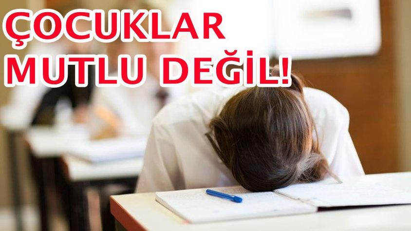 TÜRK EĞİTİM SİSTEMİNDE ENDİŞELENDİREN SONUÇ!