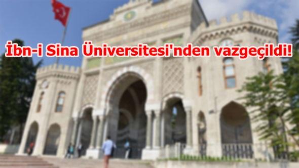 İstanbul Üniversitesi'nde değişiklik!