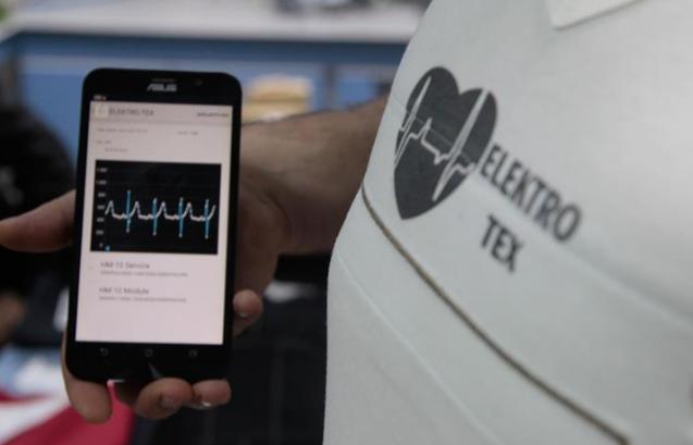 Kalp ritmini ölçen 'akıllı tişört' geliştirildi