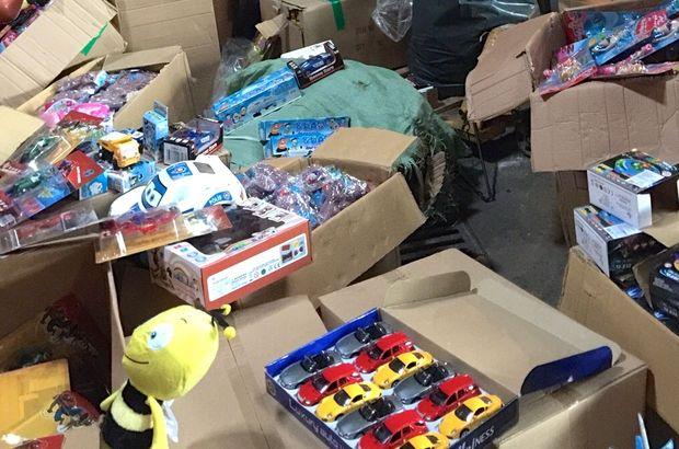 25 bin kanserojen oyuncak yakalandı