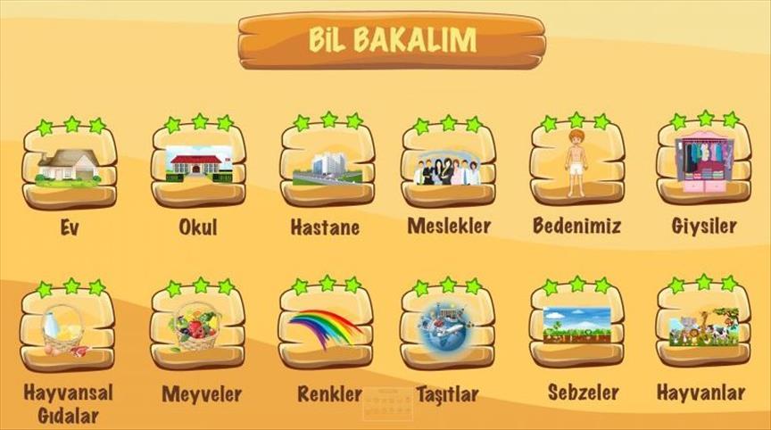 Suriyeli çocuklar Türkçeyi bu oyunla öğrenecek