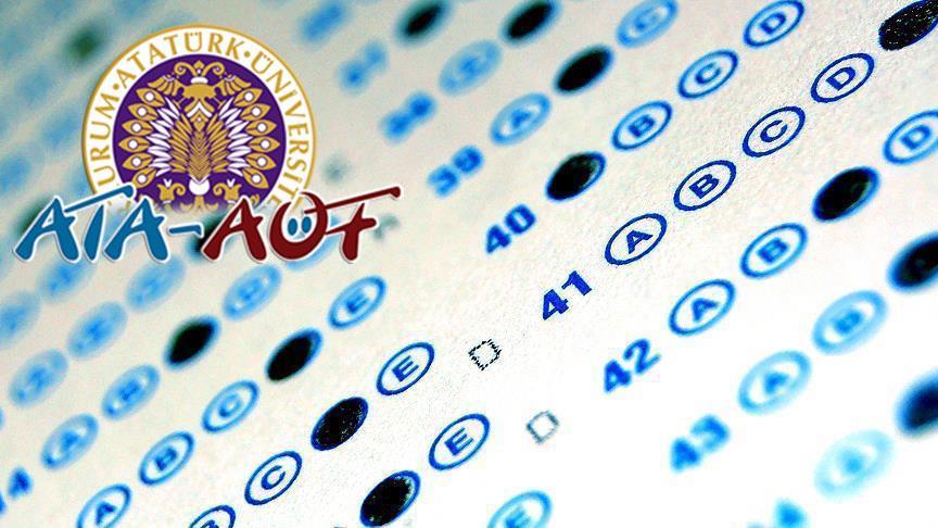 ATA-AÖF ara sınav giriş belgelerini yayımladı
