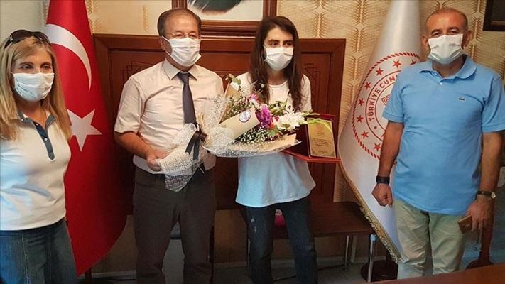 YDT oturumu birincilerinden Eren Şen elektrik elektronik mühendisliğini tercih edecek