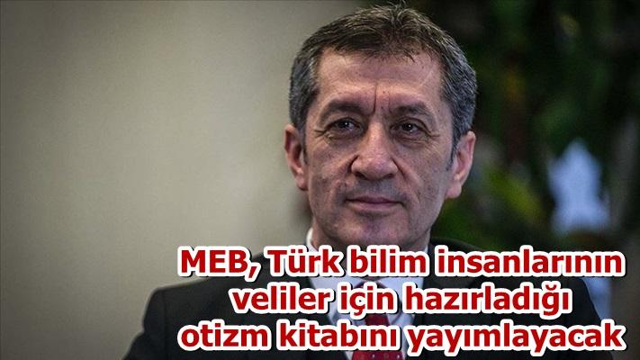 MEB, Türk bilim insanlarının veliler için hazırladığı otizm kitabını yayımlayacak