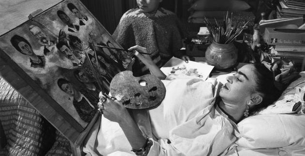 """Türk ressamlar, """"Meksika'nın vicdanı"""" Frida Kahlo'yu yorumladı"""