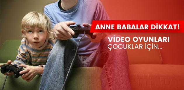 Video Oyunları Çocuklara katkı mı sağlıyor?