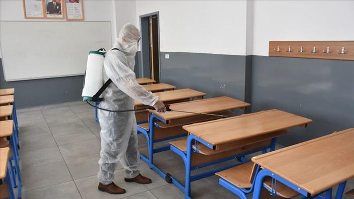 Okullar Kovid-19'lu ilk ders yılına hazırlanıyor