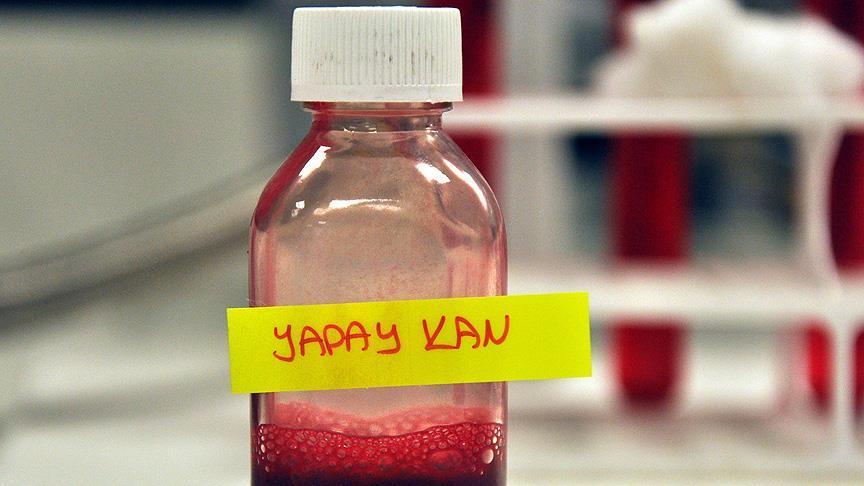 Türk bilim adamları yapay kan üretti