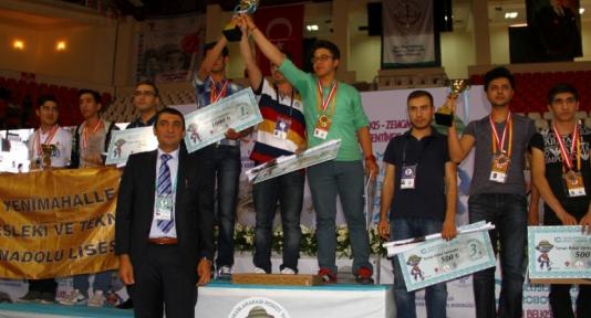 10. Uluslararası Robot Yarışması ödülleri sahiplerini buldu
