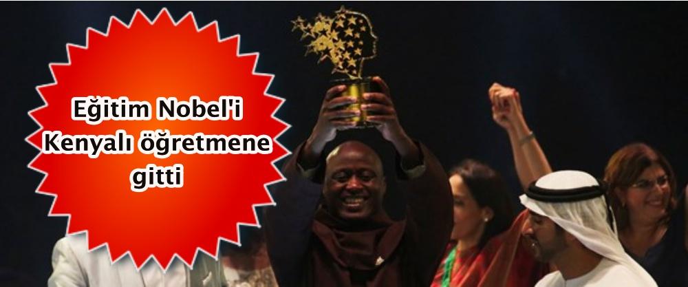 Eğitim Nobel'i Kenyalı öğretmene gitti