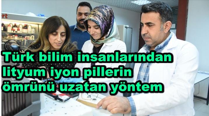 Türk bilim insanlarından lityum iyon pillerin ömrünü uzatan yöntem