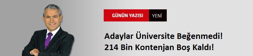 Adaylar Üniversite Beğenmedi! 214 Bin Kontenjan Boş Kaldı!