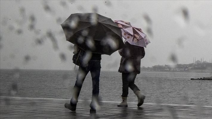 Meteorolojiden o bölgeler için yağış uyarısı