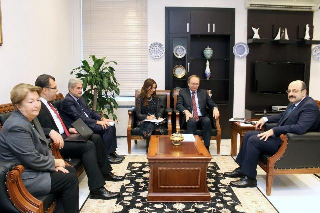 YÖK Başkanı Saraç, AB'ye Türk yükseköğretim sistemini anlattı