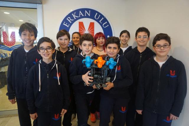 Erkan Ulu Robotik Takımı Amerika Yolcusu