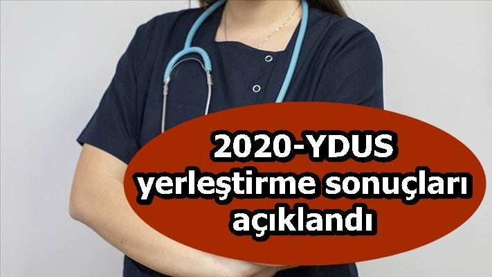 2020-YDUS yerleştirme sonuçları açıklandı