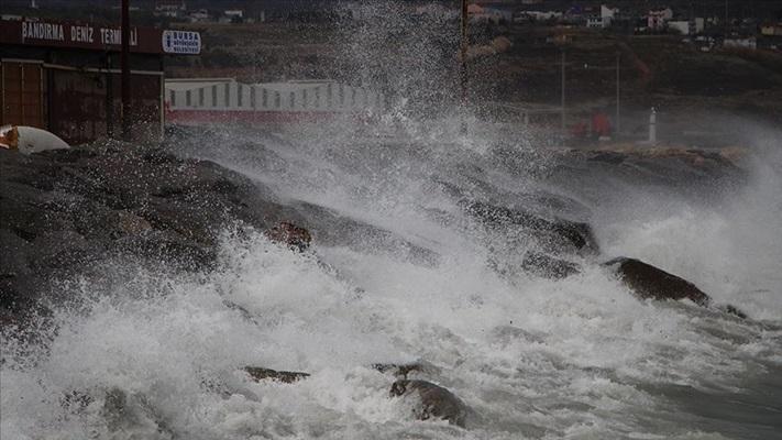 Marmara ve Batı Karadeniz için fırtına uyarısı
