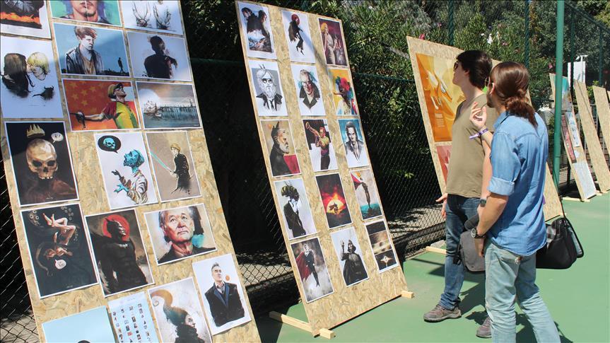 'İstanbul Comics and Art Festivali' başladı