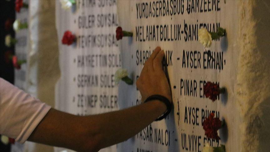 Marmara Depreminin 20. yılında hayatını kaybedenler anıldı