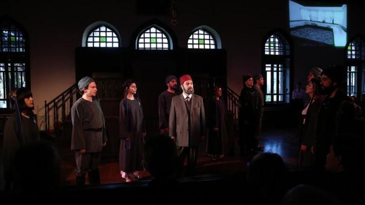 Devlet Tiyatroları İstiklal Şairi'ni 'Mehmet Akif' oyunuyla andı