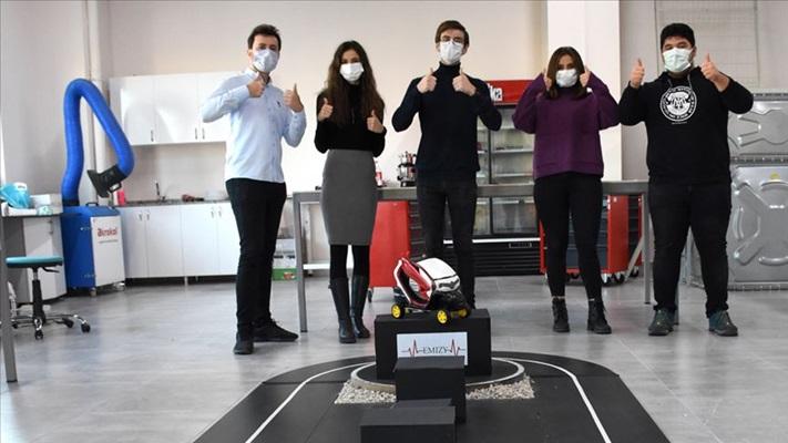 Mühendis adayları, elektrikli araç için geliştirdikleri sistemle Fransa'da yarışacak