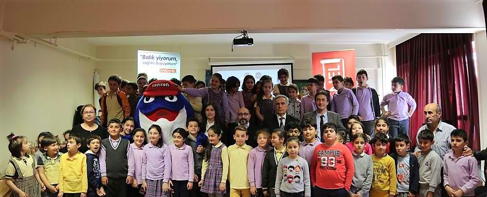 Sarıyer Belediyesi ve Dardanel çocuklara balığı sevdirmeye devam ediyor