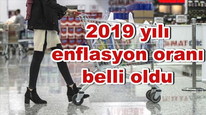 2019 yılı enflasyon oranı belli oldu