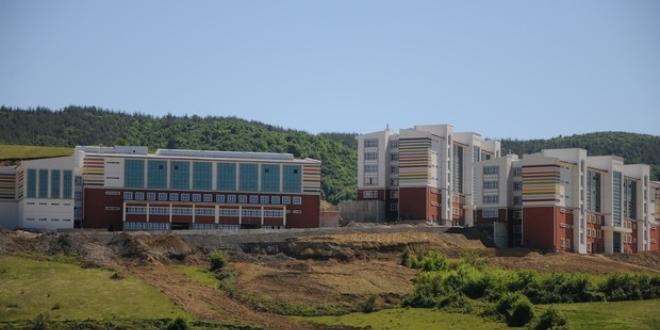 Bartın Üniversitesi'ne bin 171 dönümlük yeni kampüs